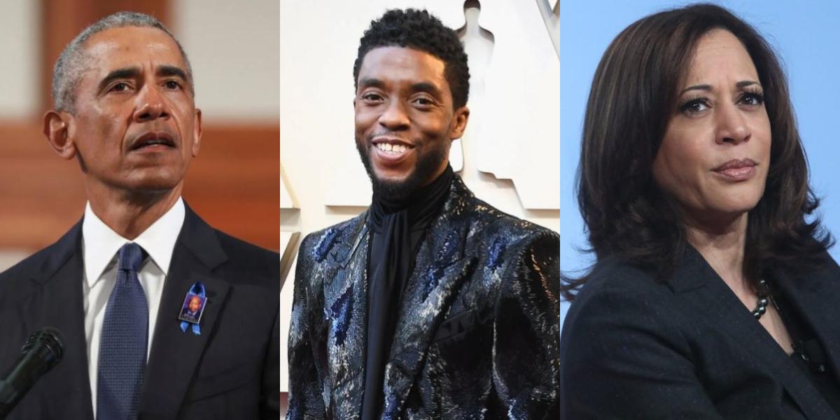 Chadwick Boseman tribute by Obama