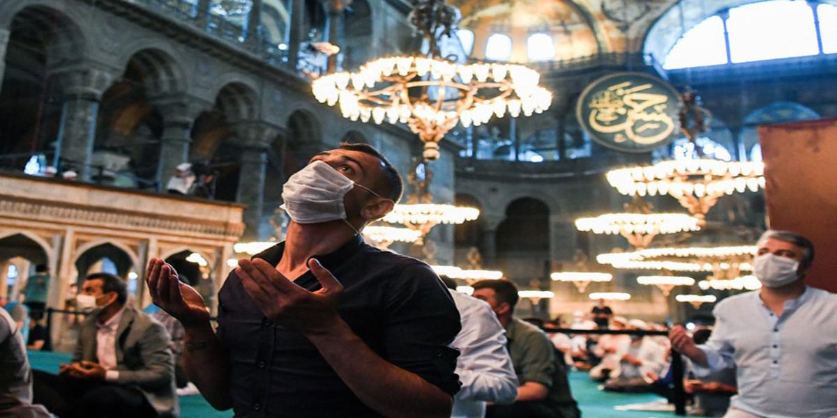 Eid-Al-Adha Hagia Sophia