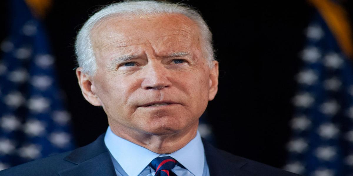 Trump's rival Joe Biden