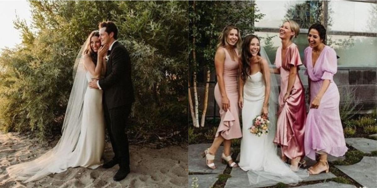 Noah Reid weds Clare Stone