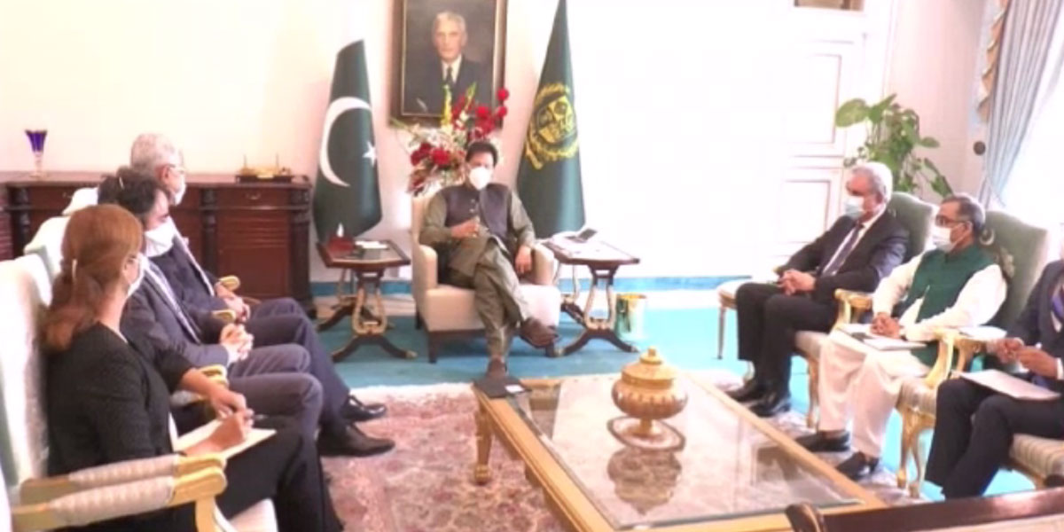 PM Imran Khan calls on UNGA President, urges UN play its role in IIOJK