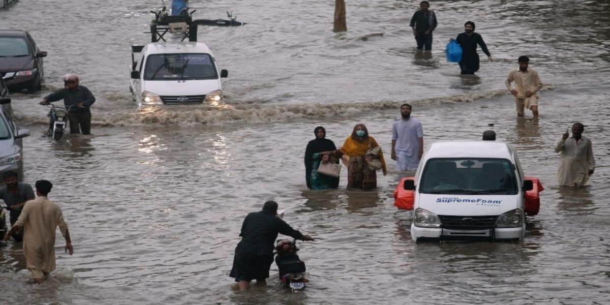 Rain urban flooding
