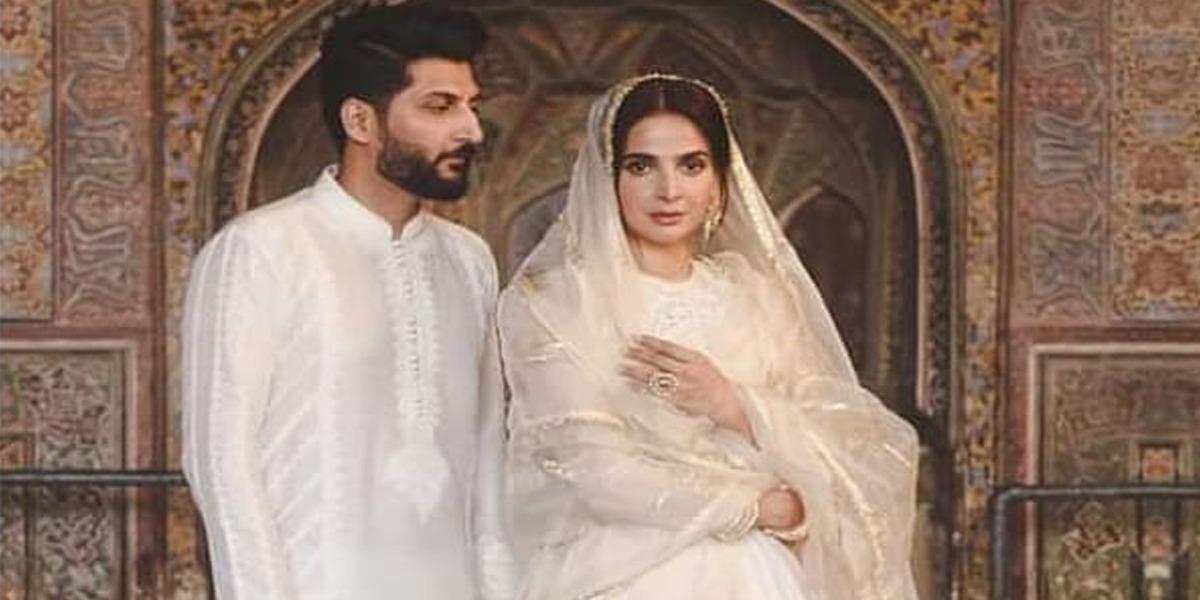Actress Saba Qamar responses on 'Qubool' song's controversy