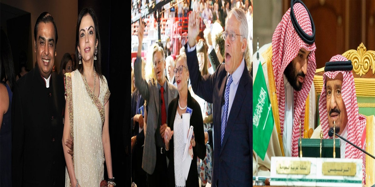 Al Saud Family, Ambani family among the World's top richest families