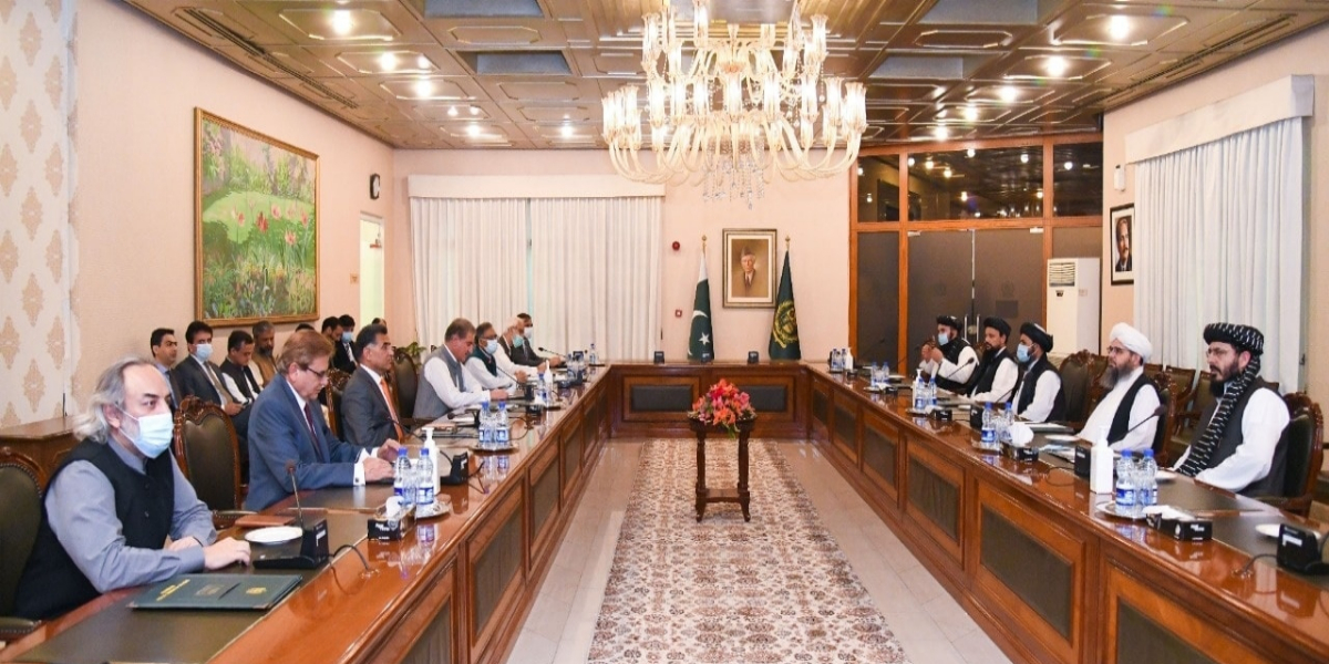 Afghan Taliban delegation, FM Qureshi discuss important issues