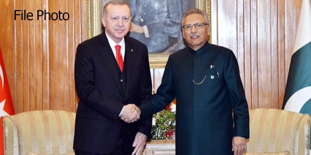 Tayyip Erdogan extends invitation to President Dr Arif Alvi to visit Turkey