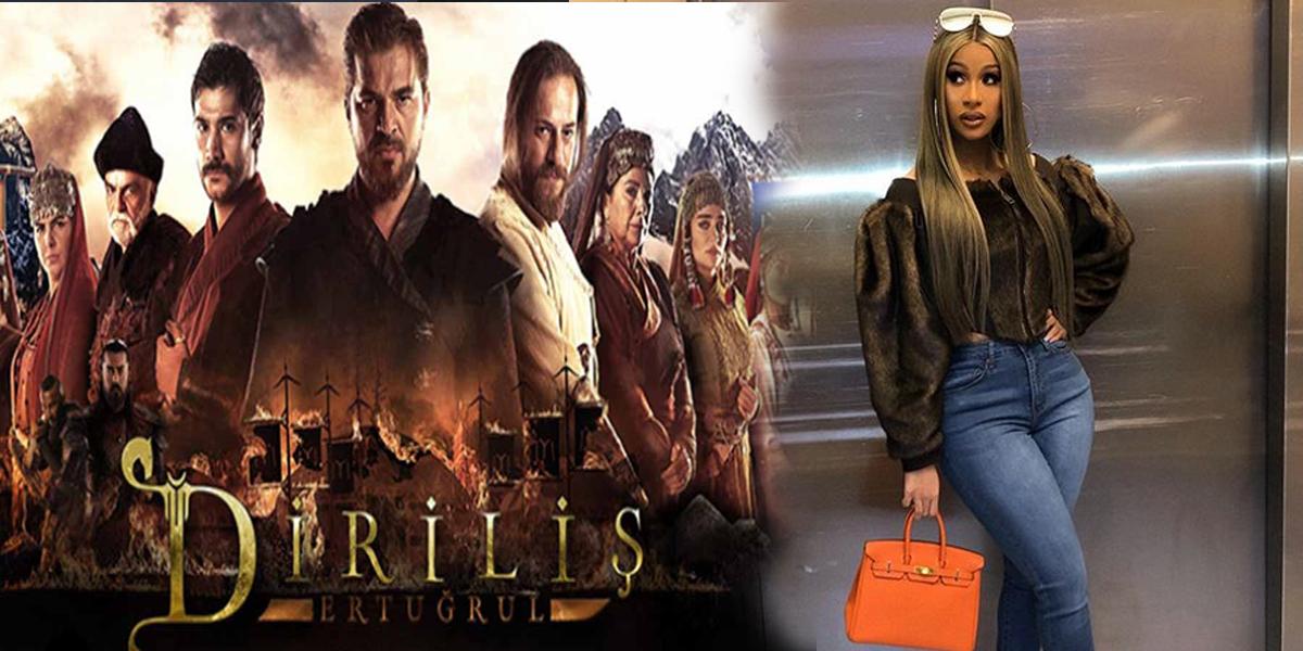 Cardi B wants to watch Turkish content & a fan recommends Drilis: Ertugrul