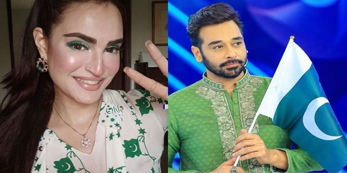 Faysal Qureshi & Nadia Faysal wish their fans a Happy Independence Day