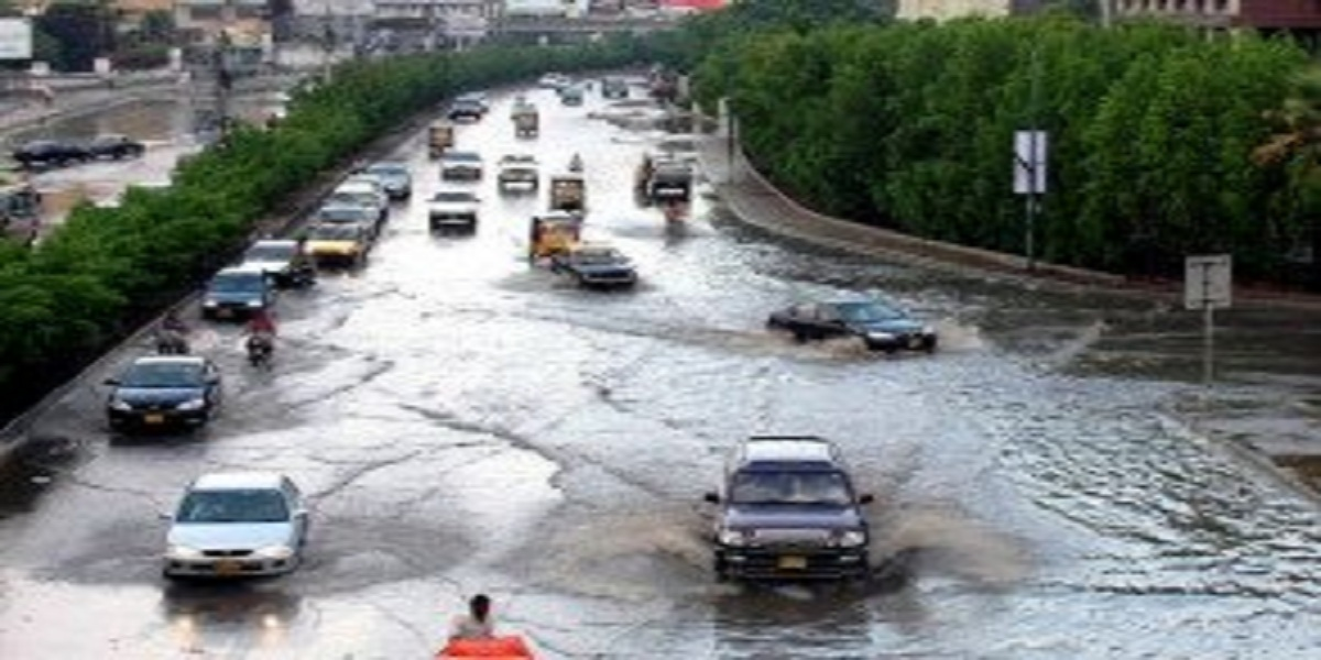 Karachi inundated after heavy rainfall, more rain expected
