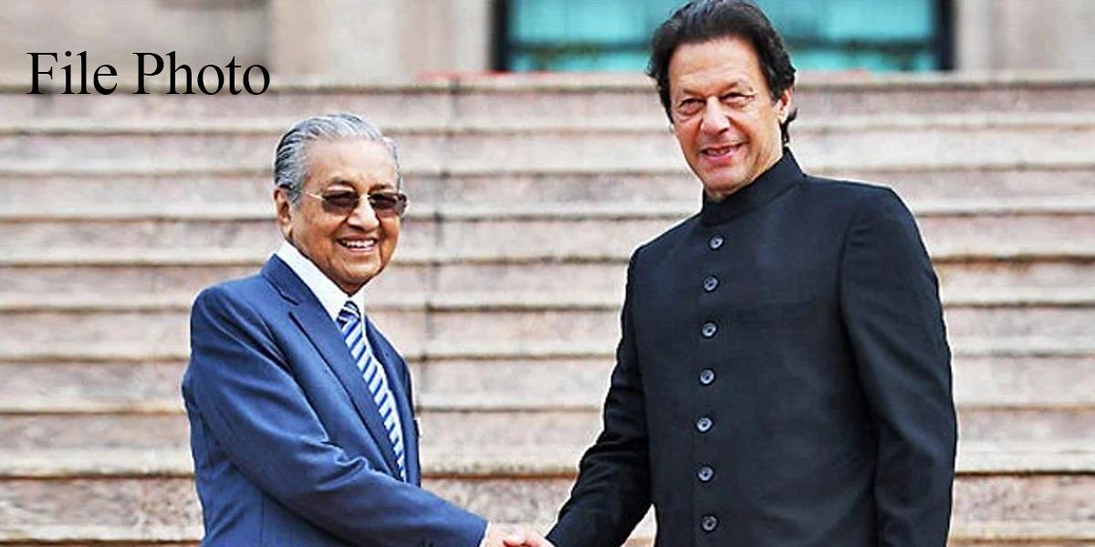 PM Imran Khan thanks Former Malaysian Prime Minister Mahathir Mohamad