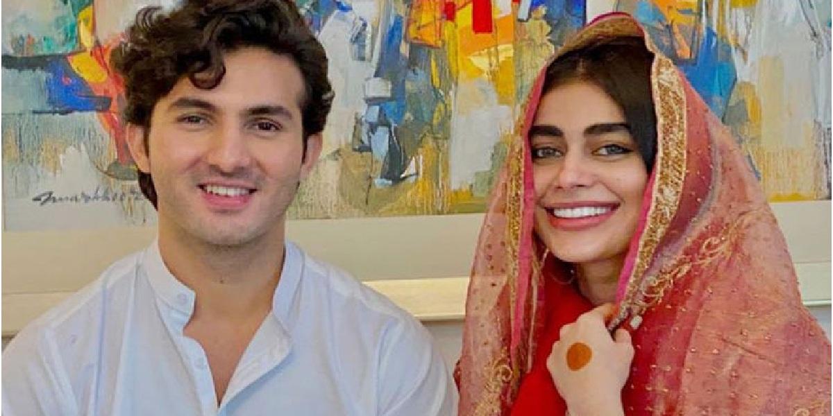 Shahroze Sabzwari calls Sadaf Kanwal 'a reason to smile'