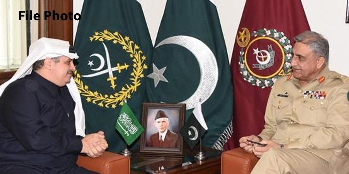 COAS General Qamar Javed Bajwa calls on Saudi Arabian Ambassador