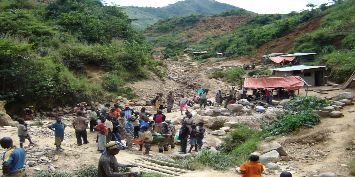 Gold mine collapses in Congo, killing at least 50