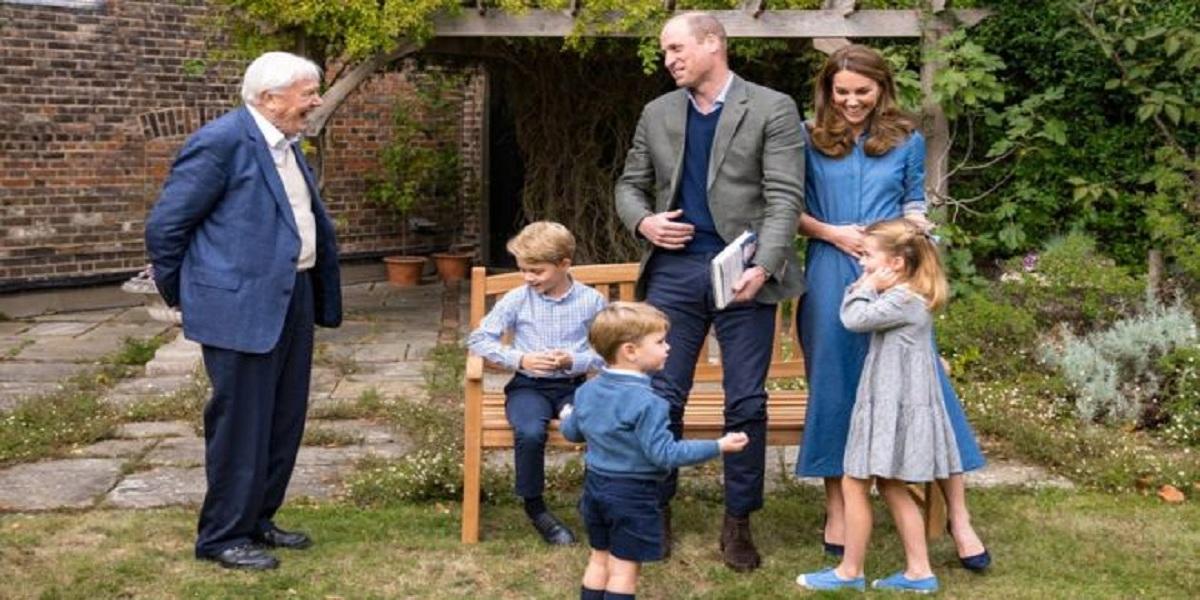 Sir David Attenborough Prince George
