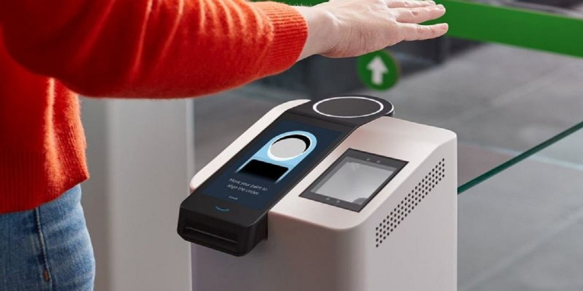 Amazon one Palm Scanner