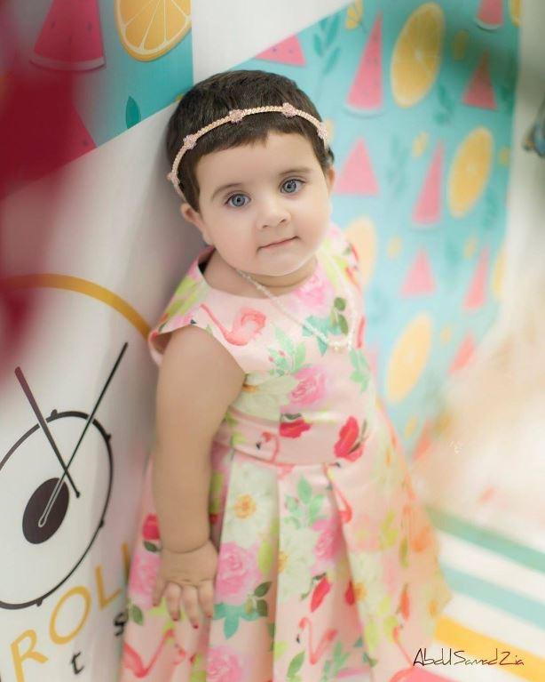 Amal Muneeb turns one