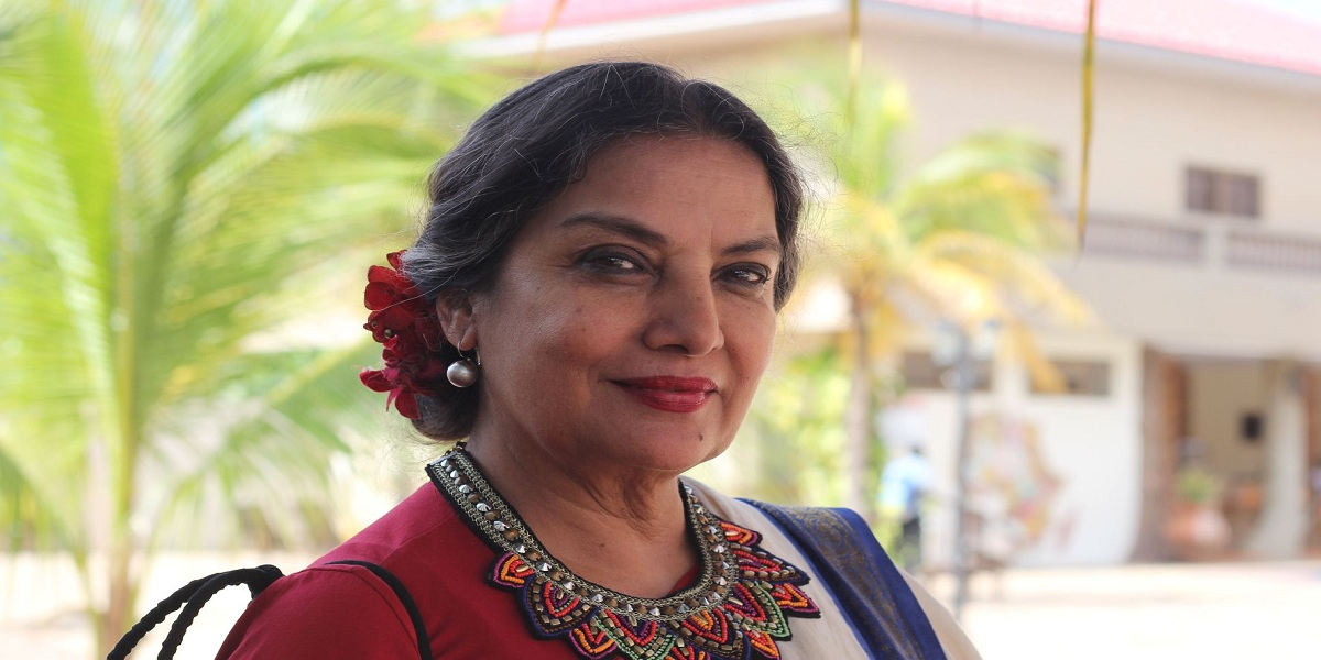 'No more shame, No more blame' Shabana Azmi joins campaign against domestic and sexual violence