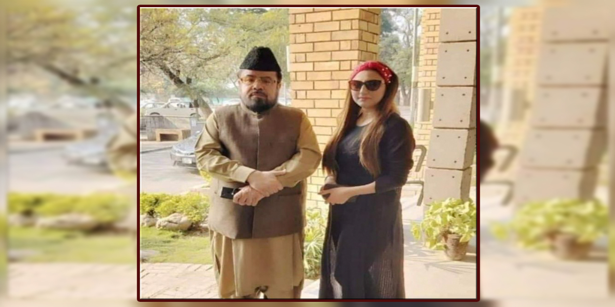 Hareem Shah and Abdul Qavi video