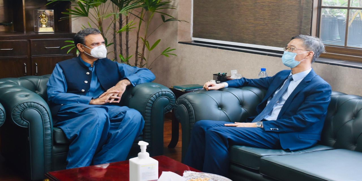 Chinese Ambassador thanked Pakistan for work on Rashakai SEZ Development Agreement.