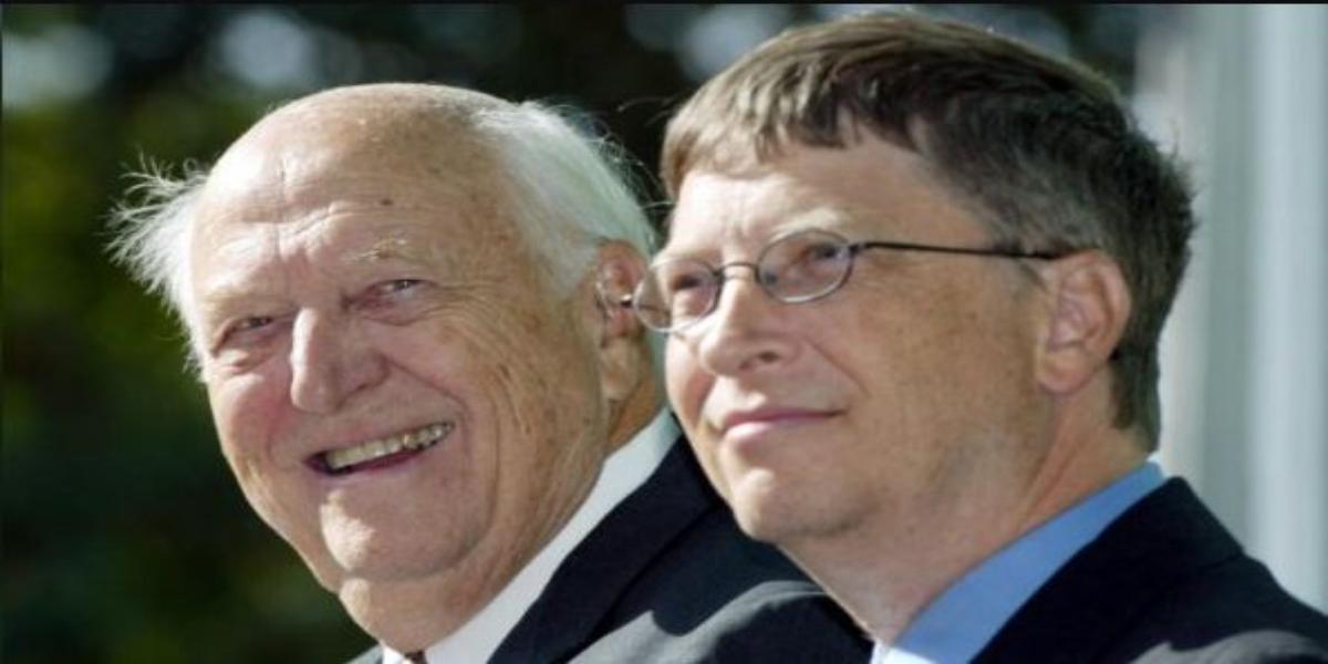 Bill Gates father died