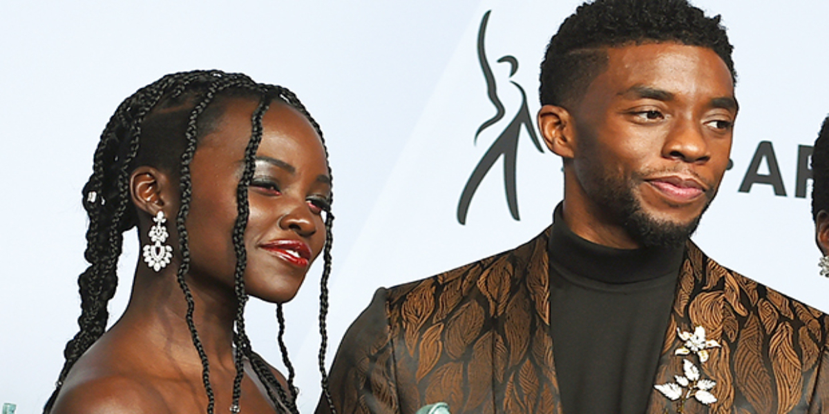 Chadwick Boseman Lupita Nyong'o