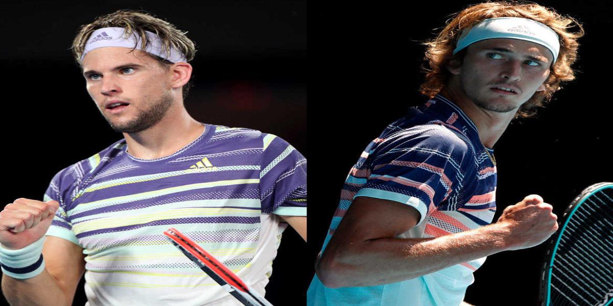 Dominic Thiem and Alexander Zverev