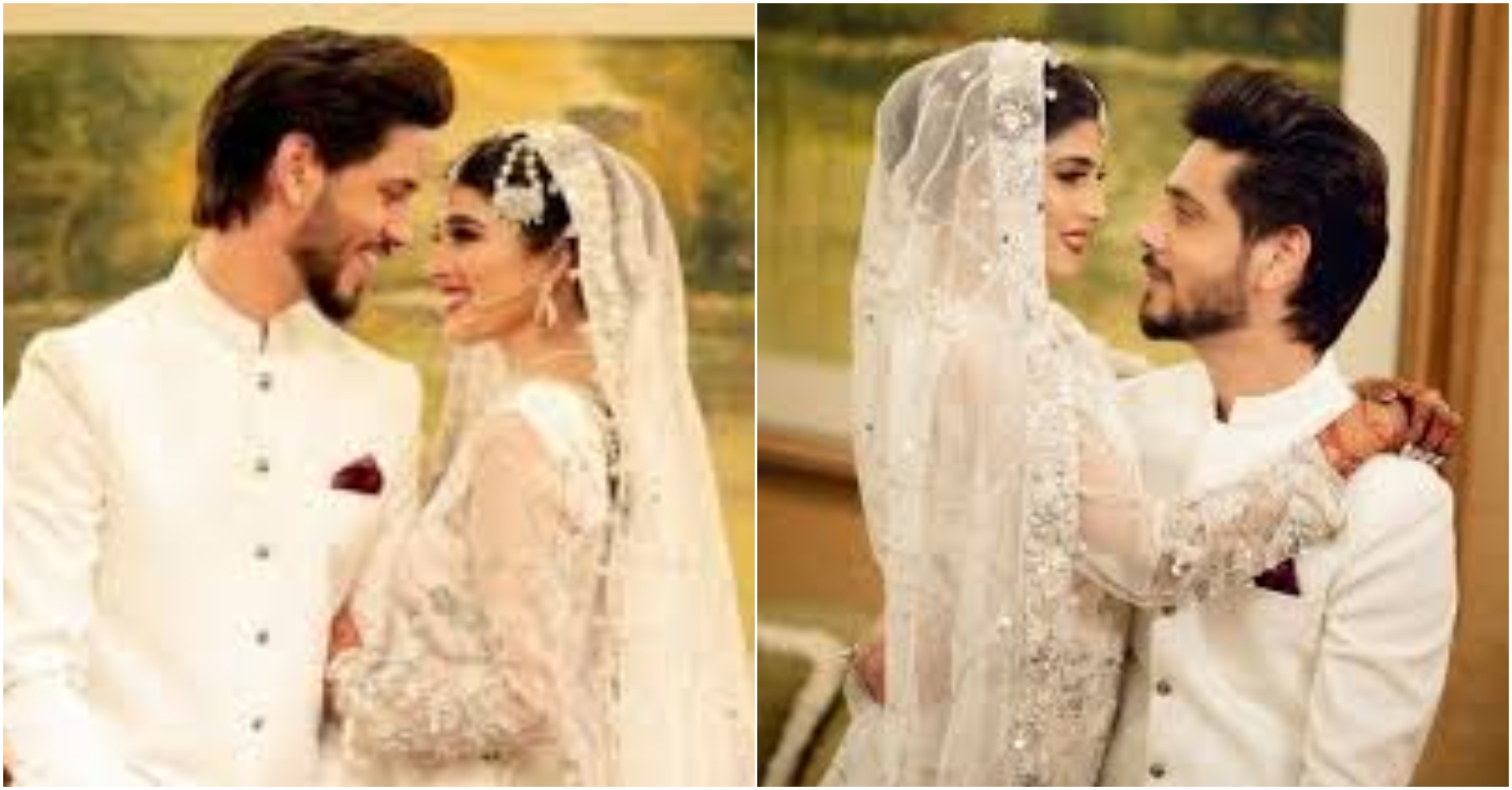 TV Ahmed Godil ties knot with Asra Ahmed, photos go viral