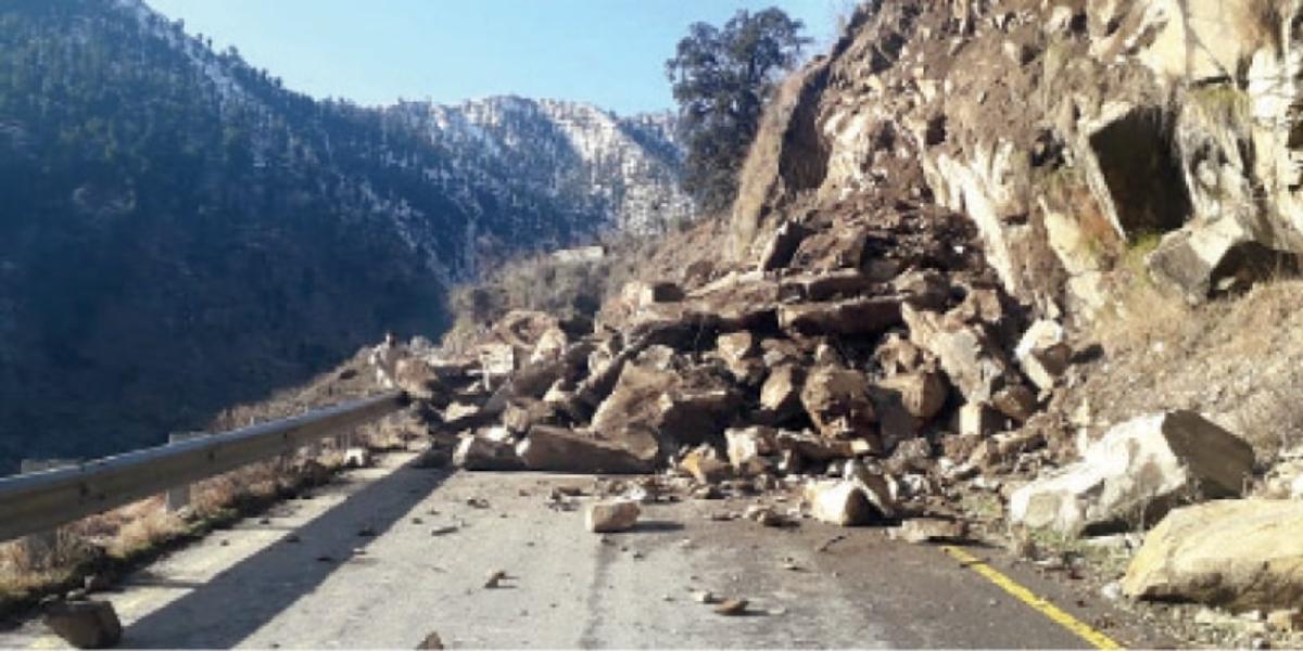 Landslide Mansehra
