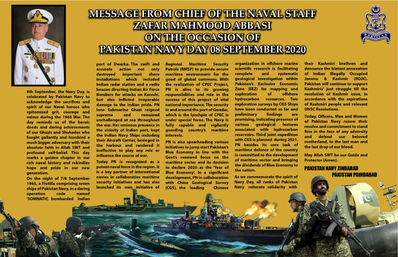 Naval Chief message