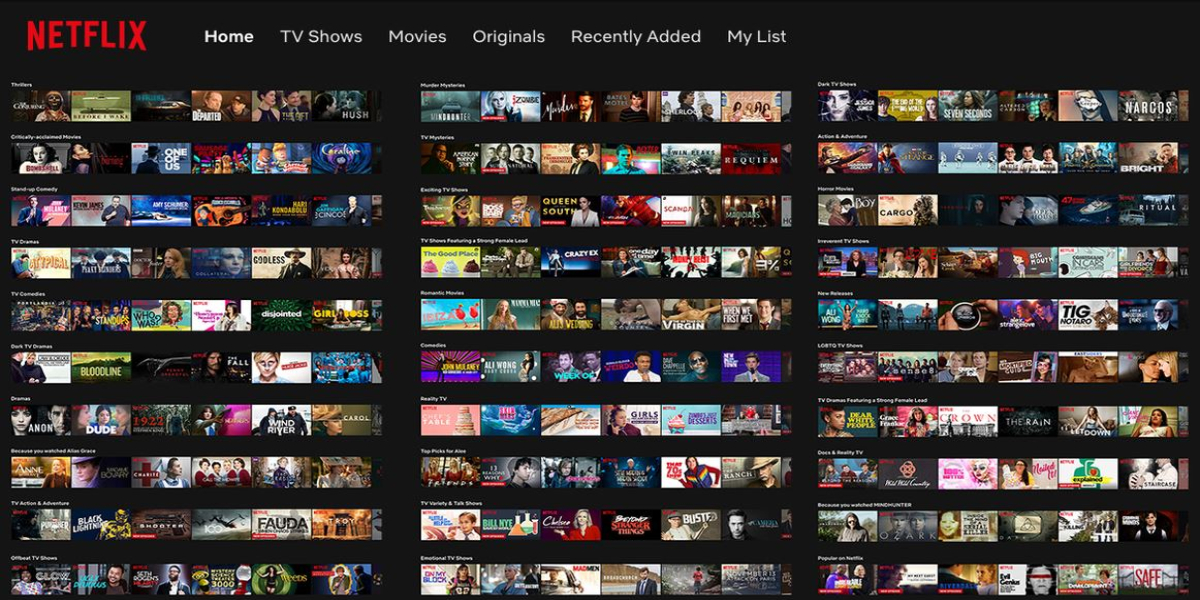 Netflix shows for free