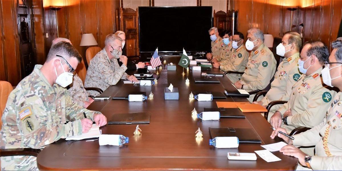 COAS, Commander US CENTCOM Discuss Regional Security