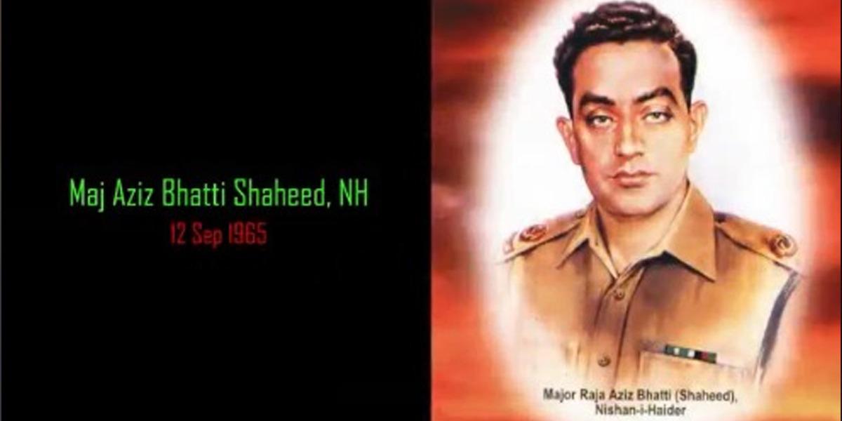 ISPR Releases Video To Honour Major Raja Aziz Bhatti Shaheed