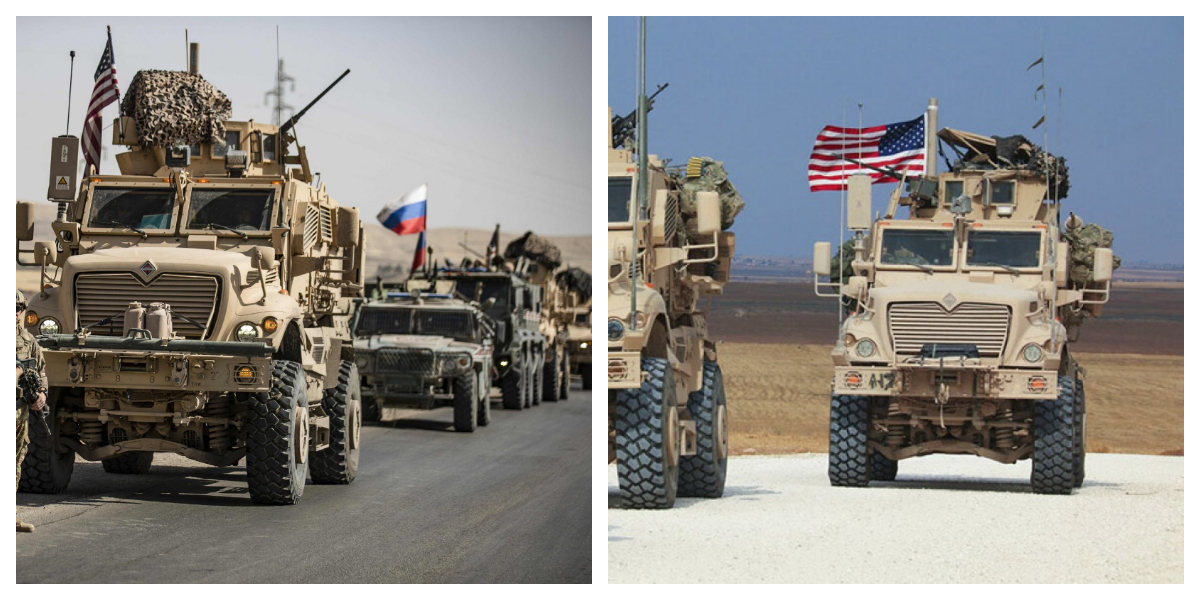 US-Russia Face off: US sends troops and armoured in Syria
