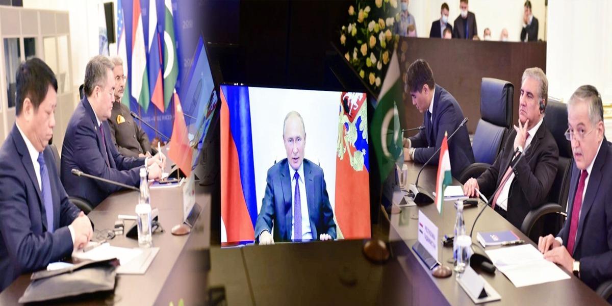 Russian President Addresses SCO-CFM Participants Via Video-Link