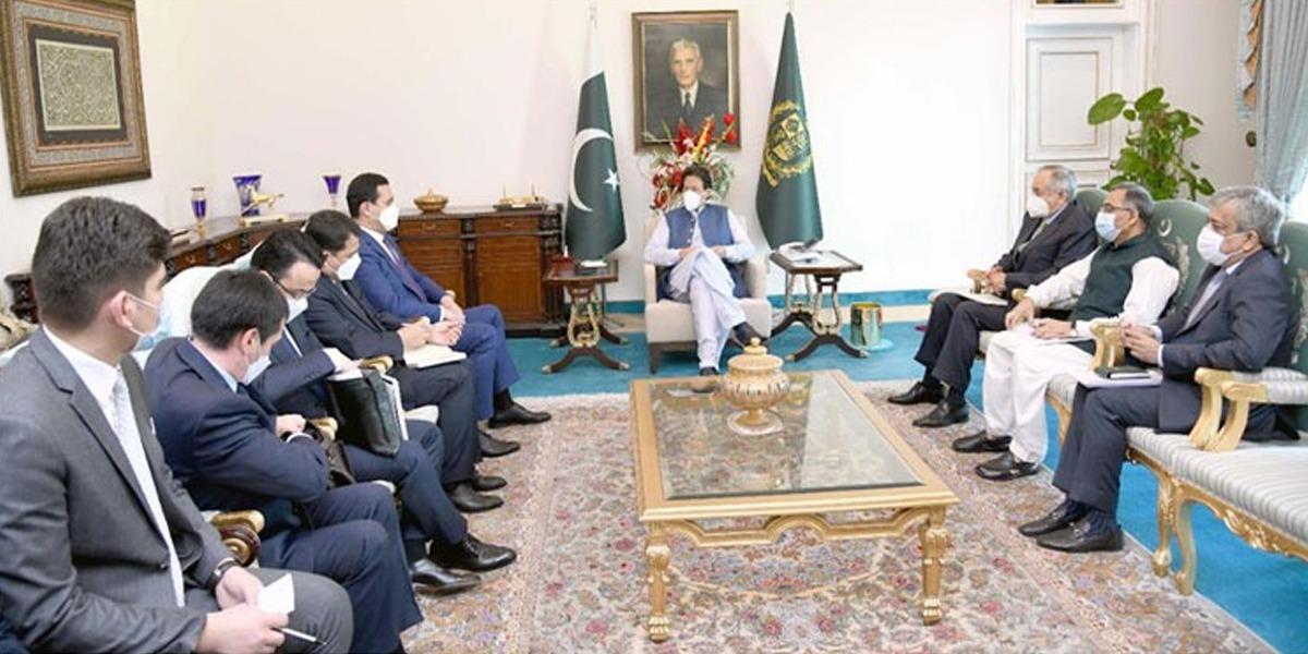 PM, Uzbek Deputy PM Discuss Regional Ties, Trade