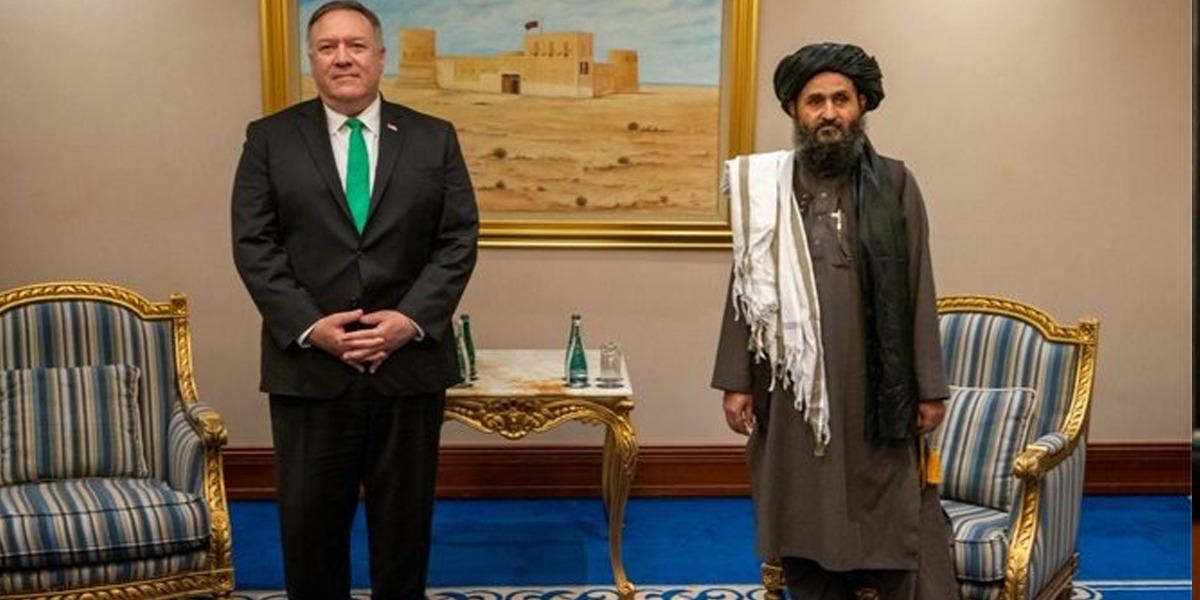 Pompeo Calls on Taliban Political Deputy MullahBeradar