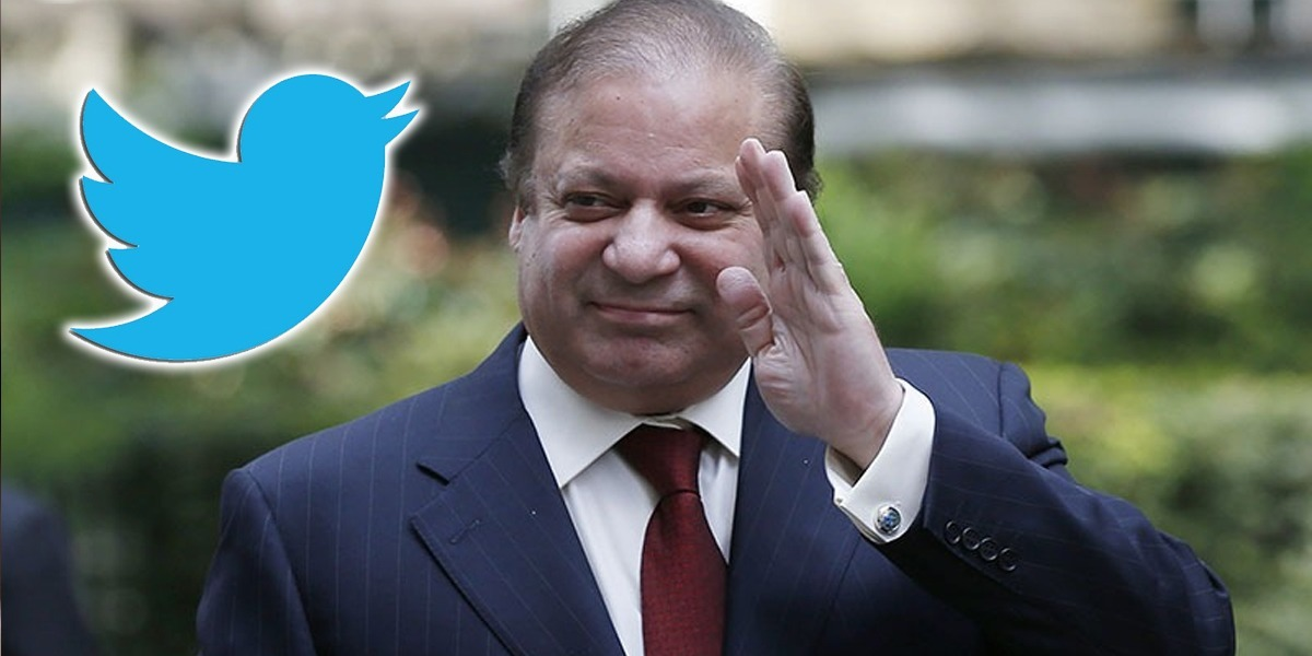 """Nawaz Sharif Joins Twitter, Says """"Respect the Vote"""""""