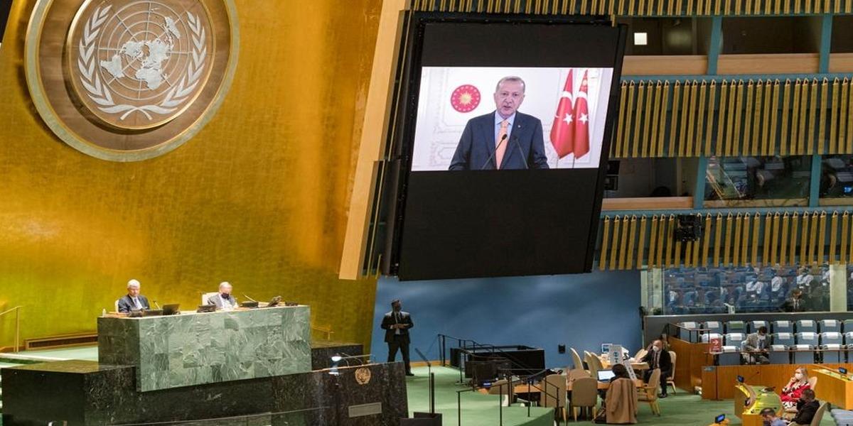 Unresolved Kashmir, Palestine Issue Damages Credibility of int'l organizations: Erdogan