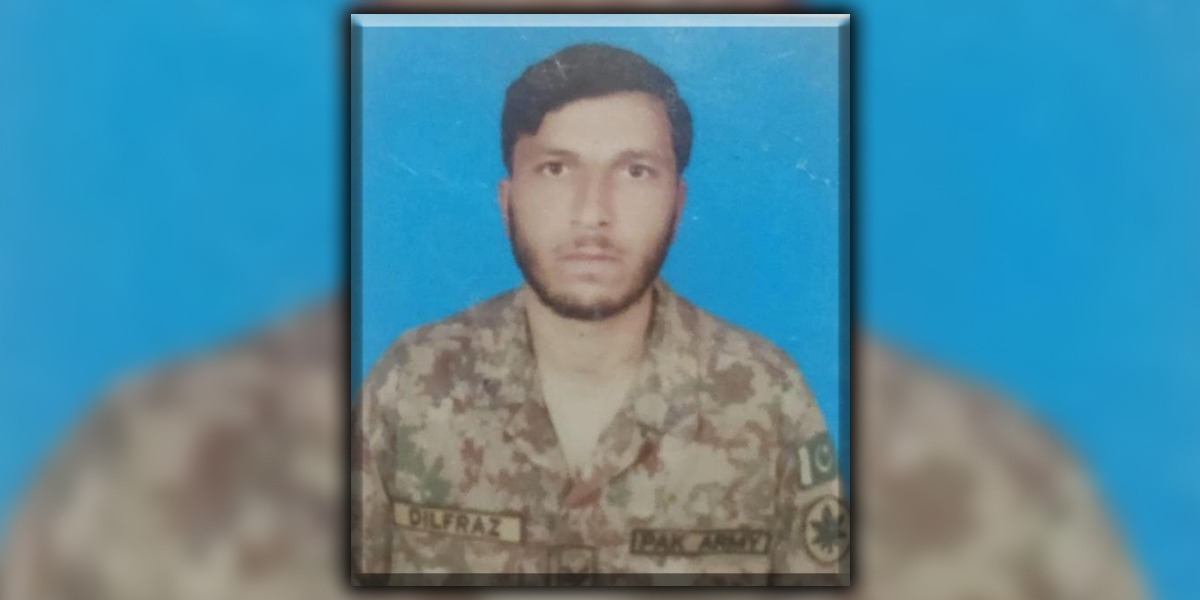 Soldier Martyred By Unprovoked Firing by Indian Troops