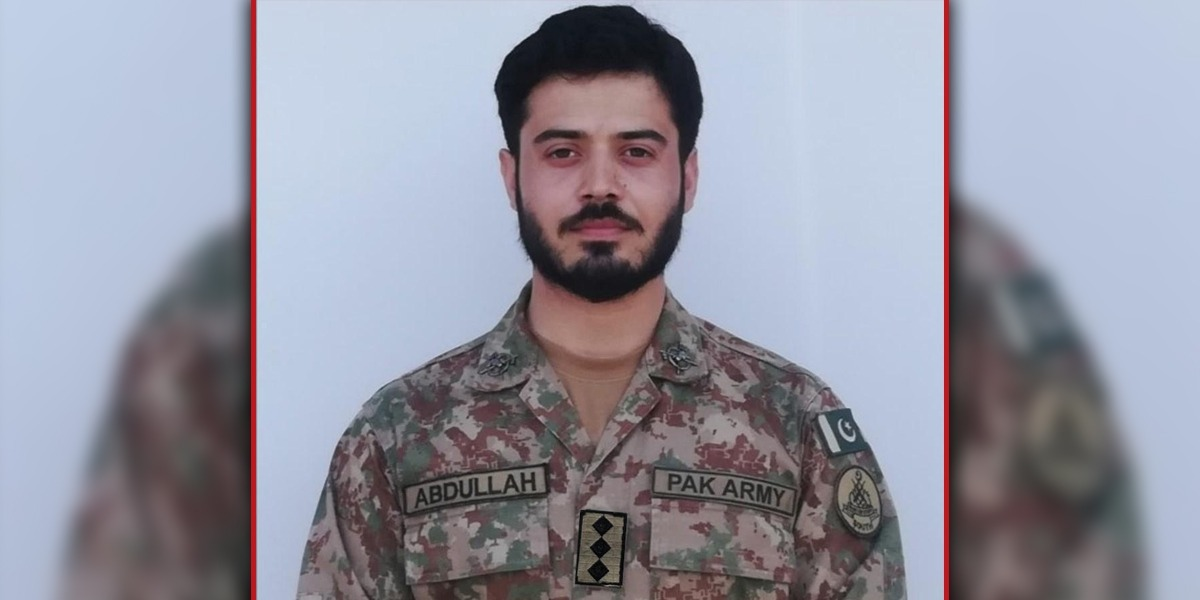 Captain Martyred By Terrorist Firing In South Waziristan