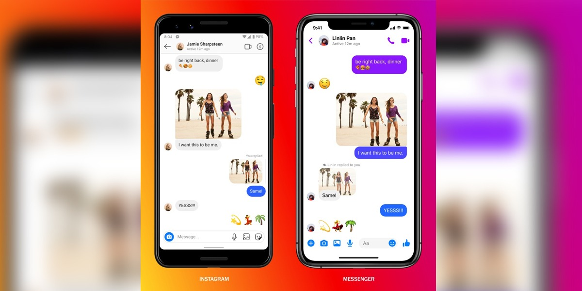 Instagram, Messenger Chats Are Now Merged Into One Service