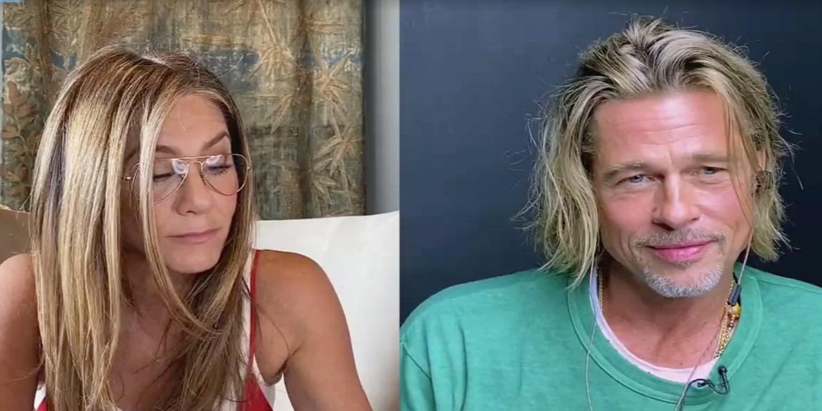 Jennifer Aniston and Brad Pitt reunited again for a good cause
