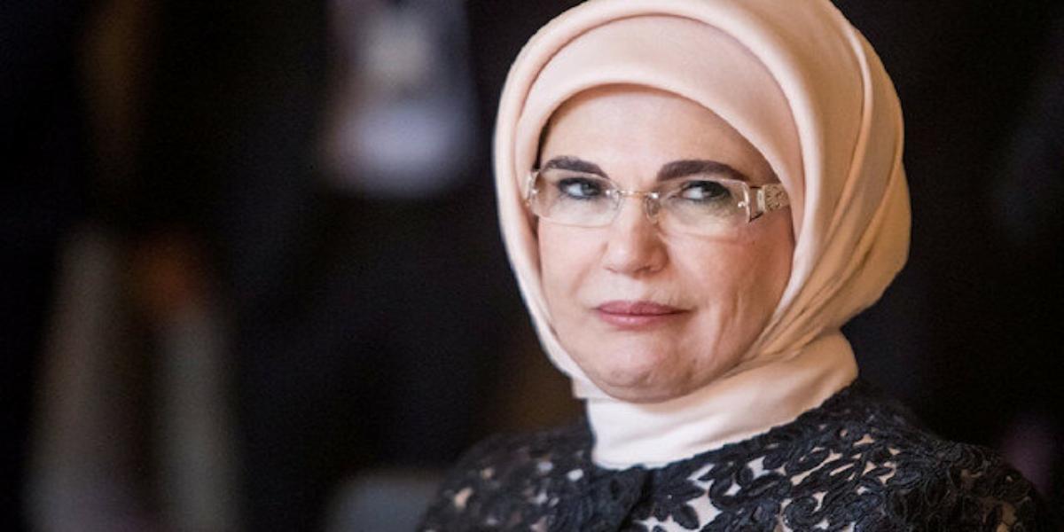 Enime Erdogan among top 10 influential Muslims