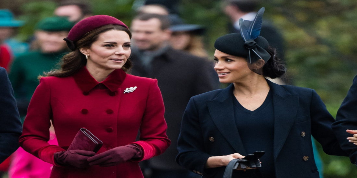 What did Meghan give Kate on their first meeting?