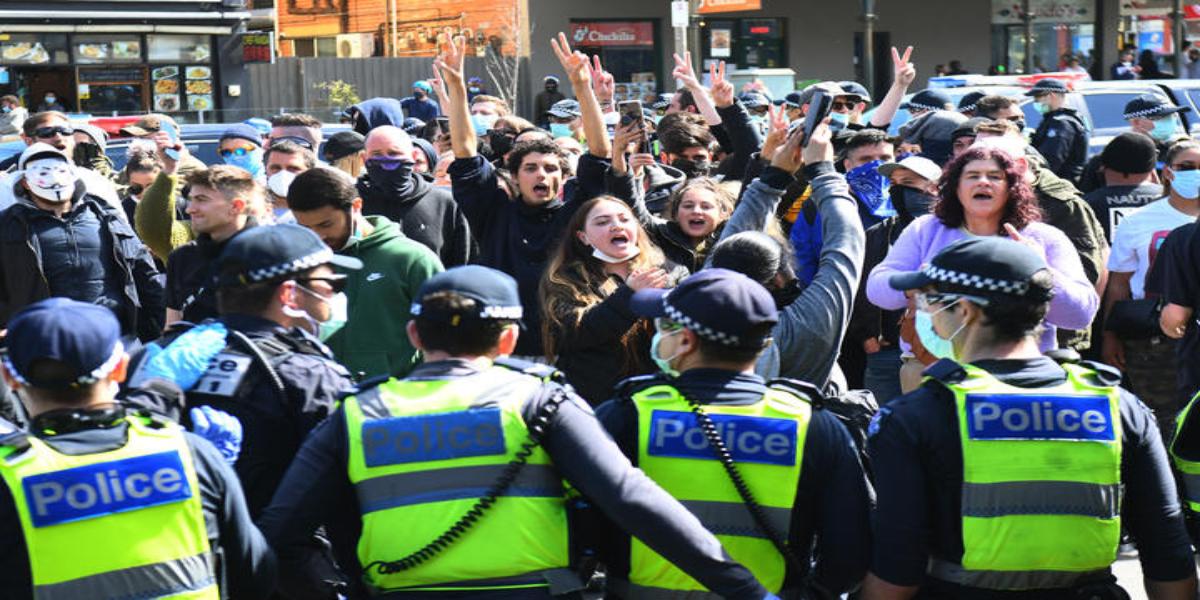 Melbourne Anti-Lockdown Protest: Police arrested 74 people