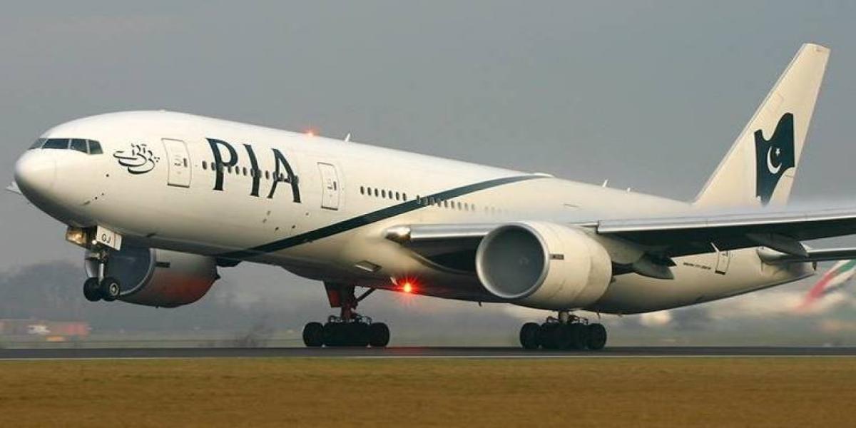 PIA leased plane