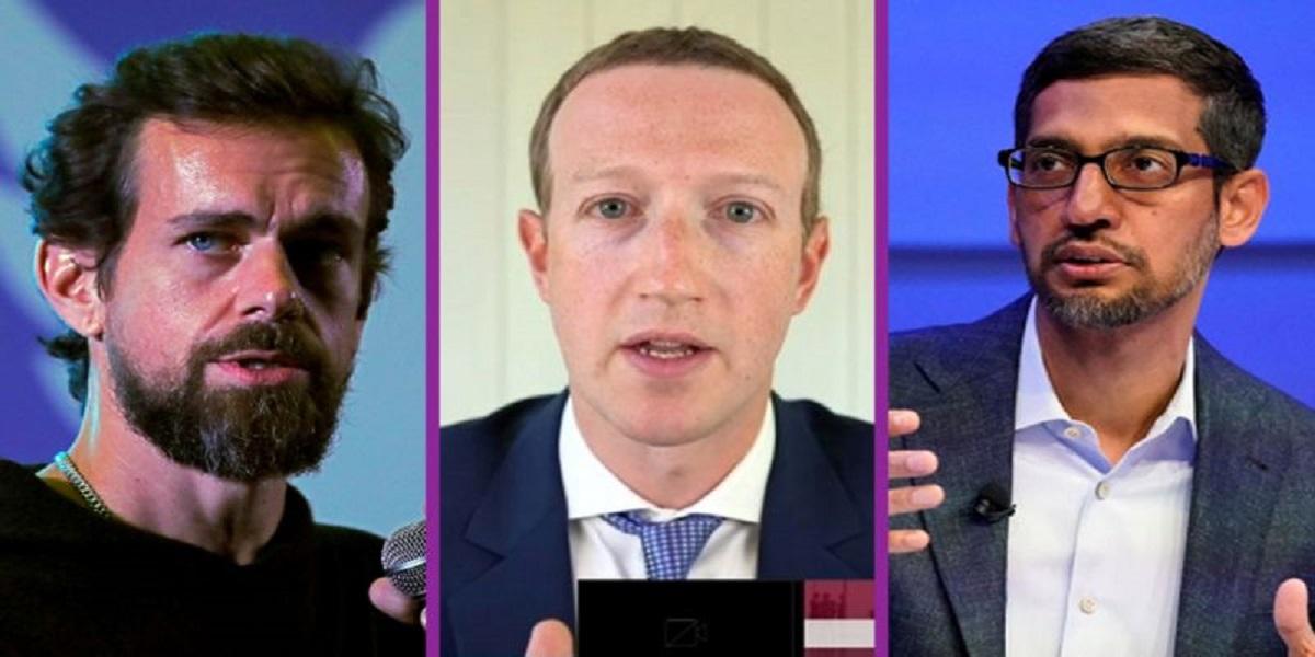 Facebook Google Twitter CEOs