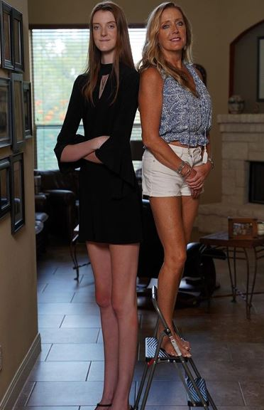 Maci Currin longest legs