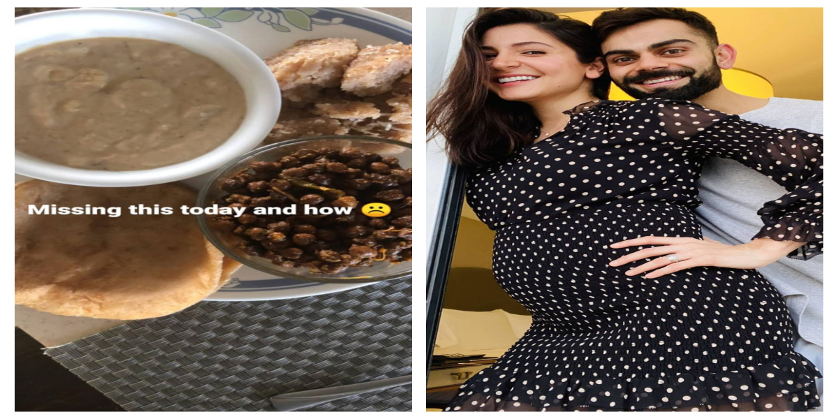 Anushka Sharma Flaunting Her Cravings While Expecting Her First Child
