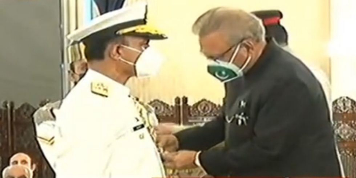 Admiral Amjad Khan Nishan i Imtiaz